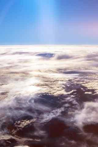 唯美的云端风景手