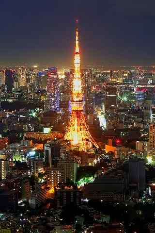 埃菲尔铁塔唯美夜