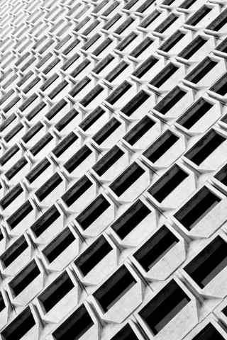 方形建筑手机壁纸