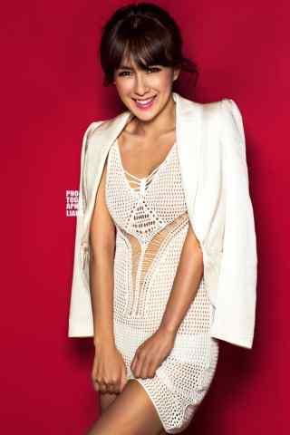 韩国著名歌手蔡妍