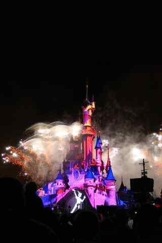 梦幻迪士尼乐园烟