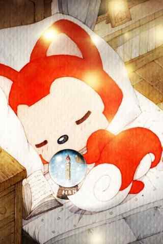 最受欢迎卡通形象阿狸手机壁纸