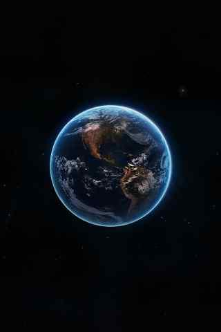 唯美的地球高清手