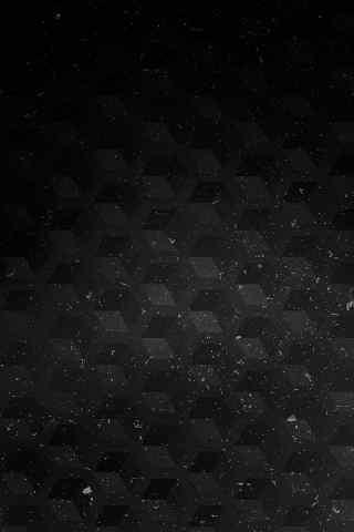 菱形黑色格子手机壁纸