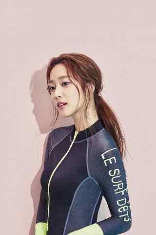 韩国运动女神生活照
