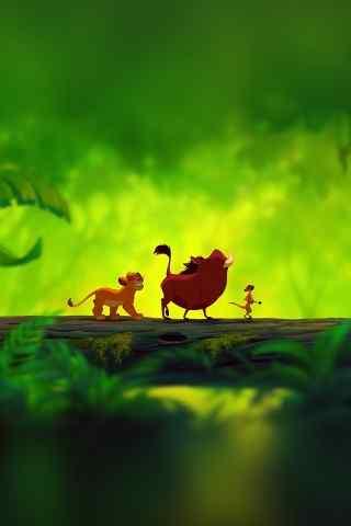 狮子王动漫手机壁纸