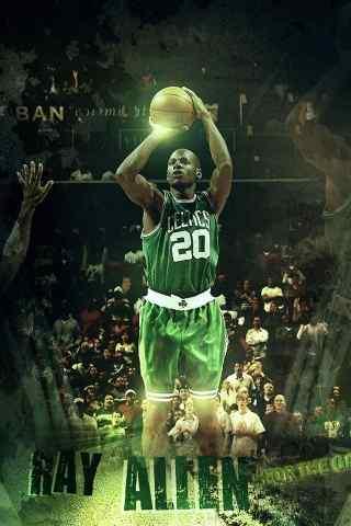 NBA篮球明星罚球