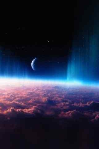玄幻的宇宙风景壁