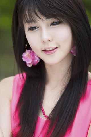 韓國超模-李智友手機壁紙下載