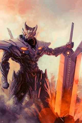 霸气剑客游戏主角高清手机壁纸下载