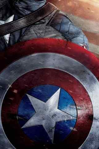 高清好莱坞大片《美国队长》高清手机壁纸