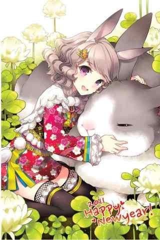 日本动漫里的兔美