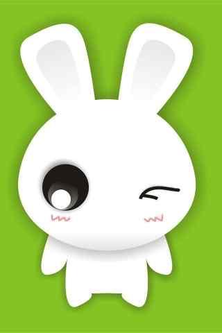 可爱动漫兔子形象