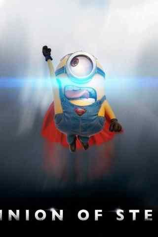超人小黄人搞笑壁纸
