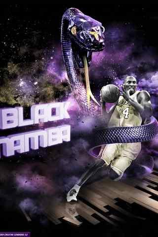 NBA球星科比酷炫