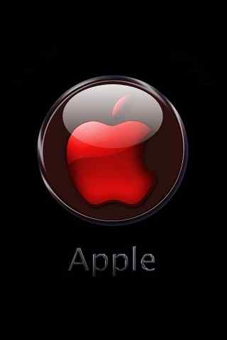 水晶苹果LOGO精美