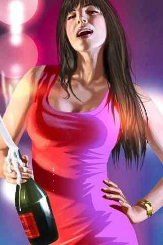香槟女郎高清手机