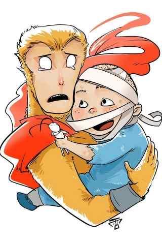 国内精品动漫《大圣归来》卡通版壁纸