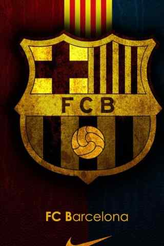 巴薩(巴塞羅那)隊徽高清手機安卓桌面