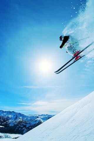极限滑雪电脑壁纸