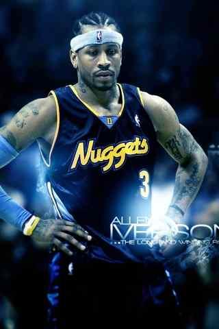 NBA 3号艾弗森手