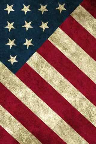 国旗系列手机壁纸之美国国旗
