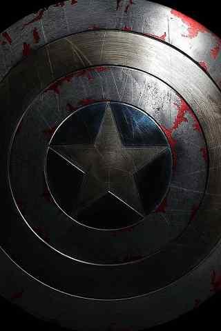 美国队长的盾牌手机壁纸图片
