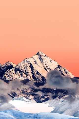 天空大海雪山合成