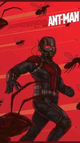 漫威科幻电影《蚁人》高清手机壁纸