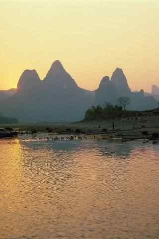 桂林山水甲天下高清手机壁纸