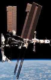 天空 国际空间站