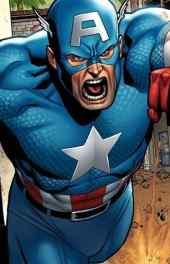 威漫漫画美国队长高清手机壁纸