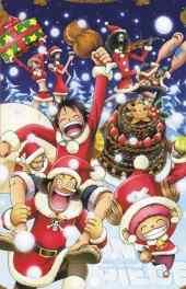海贼王全部人物圣诞节高清手机壁纸