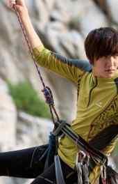 韩国|韩国明星李敏镐登山高清手机壁纸