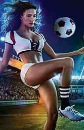 欧美美女|超模足球宝贝世界杯手机高清壁纸