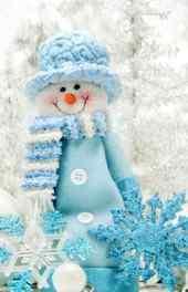 可爱|可爱小雪人高清手机壁纸