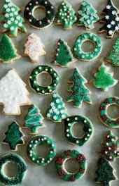 圣诞节创意饼干礼物手机壁纸