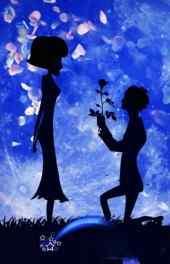 浪漫|月下影子求