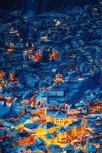 【童话之城-奥蒂塞伊】阿尔卑斯山谷之中的绝美小镇手机壁纸