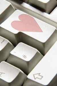 键盘上的爱情温馨