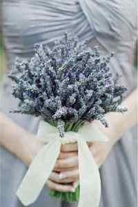 唯美的新娘捧花浪