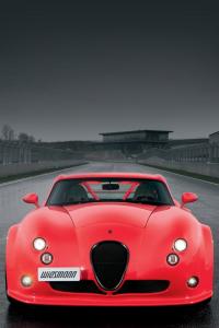炫酷的红色跑车ip