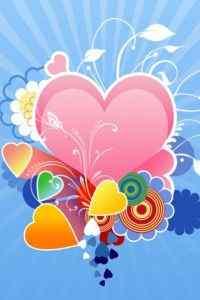 爱心浪漫设计手机