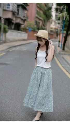 草帽少女高清写真