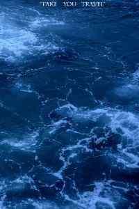 深藍大海純粹自然風景高清手機壁紙