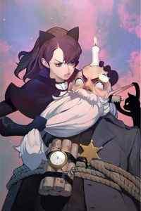 游戏洛奇玛丽猫美女卡通高清手机壁纸