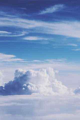 蓝天云朵天空高清