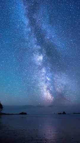 绚丽多彩唯美星空