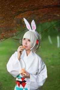 阴阳师山兔可爱美