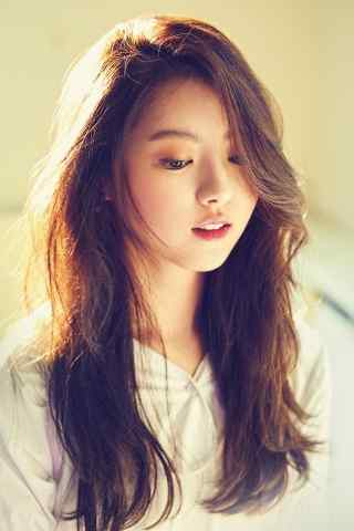 韩国长发清纯美女